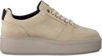 Beige NUBIKK Lavskaftede sneakers ELISE BLUSH  - medium