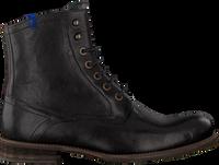Sorte FLORIS VAN BOMMEL Snørestøvler 10751  - medium