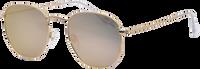 Guld IKKI Solbriller LA PORTE  - medium