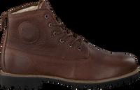 Cognac BLACKSTONE Snørestøvler OM60  - medium