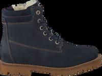 Blå TON & TON Snørestøvler 4592N  - medium