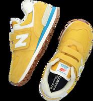 Gul NEW BALANCE Lavskaftede sneakers PV574  - medium