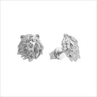 Sølv ATLITW STUDIO Ørering PARADE EARRINGS LION  - medium
