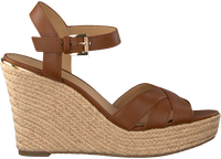 Cognac MICHAEL KORS Sandaler SUZETTE WEDGE  - medium