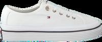 Hvide TOMMY HILFIGER Lavskaftede sneakers CORPORATE FLATFORM  - medium