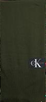 Grønne CALVIN KLEIN Sjal J BASIC MEN KNITTED SCARF  - medium