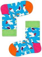 Blå HAPPY SOCKS Strømper KIDS PIGEON SOCK  - medium