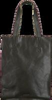 Grønne MYOMY Håndtaske MY PAPER BAG LONG HANDLE ZIP  - medium