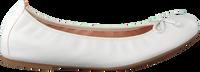 Hvide UNISA Ballerinasko ACOR  - medium