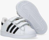 Hvide ADIDAS Lavskaftede sneakers SUPERSTAR CF I  - medium