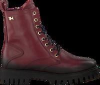 Røde TOMMY HILFIGER Snørestøvler SHADED TH BOOTIE  - medium