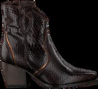 Brune VERTON Ankelstøvler 667-004  - medium