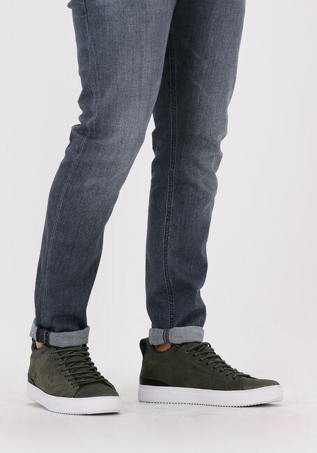 Grønne BLACKSTONE Lavskaftede sneakers SG28  - large