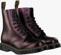 Røde DR MARTENS Snørestøvler 1460 PASCAL  - medium