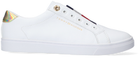 Hvide TOMMY HILFIGER Lavskaftede sneakers TH ELASTIC SLIP ON  - medium
