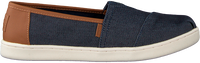 Blå TOMS Loafers CLASSIC KIDS  - medium