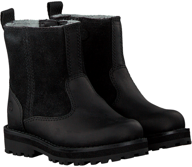 Sorte TIMBERLAND Ankelstøvler COURMA KID WARM LINED BOOT  - large