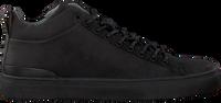 Sorte BLACKSTONE Højskaftede sneakers SG19  - medium