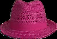 Lyserøde LE BIG Hat NEDA HAT  - medium