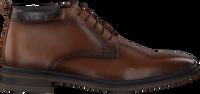 Cognac MAZZELTOV Snørestøvler MBURGO600.08OMO01  - medium
