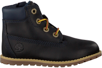 Blå TIMBERLAND Snørestøvler POKEY PINE 6IN BOOT KIDS  - medium
