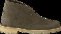 Grønne CLARKS Snøresko DESERT BOOT DAMES  - medium