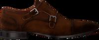 Cognac GREVE Chikke sko MAGNUM  - medium