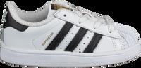 Hvide ADIDAS Lavskaftede sneakers SUPERSTAR I  - medium
