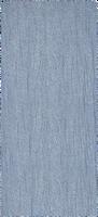 Blå MR.MISTOR Sjal 384.11.743.0  - medium