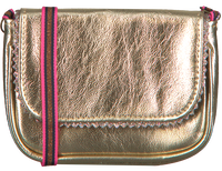 Guld LE BIG Skuldertaske TAZA BAG  - medium