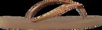 Lyserøde HAVAIANAS Flipflops KIDS SLIM GLITTER  - medium
