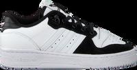Hvide ADIDAS Lavskaftede sneakers RIVALRY LOW J  - medium