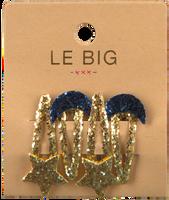 Guld LE BIG Hårbånd PEARL HAIRCLIPS  - medium