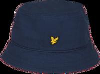 Blå LYLE & SCOTT Hat COTTON TWILL BUCKET HAT  - medium