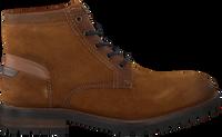 Cognac VERTON Snørestøvler 11-121-7095  - medium