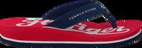 Røde TOMMY HILFIGER Flipflops BASEBALL PRINT FLIP FLOP  - medium