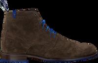 Taupe FLORIS VAN BOMMEL Snørestøvler 10506  - medium