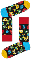 Flerfarvede HAPPY SOCKS Strømper FUNNY DOG  - medium
