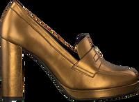 Guld TOMMY HILFIGER Højhælede sko POLISHED TOMMY HIGH HEEL  - medium