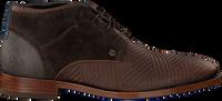 Brune REHAB Chikke sko SALVADOR ZIG ZAG  - medium