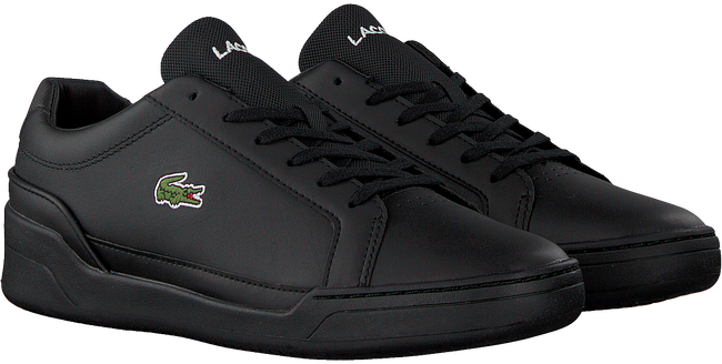 Sorte LACOSTE Lavskaftede sneakers CHALLENGE  - large