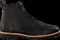 Sorte BLACKSTONE Snørestøvler SG12  - medium