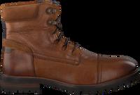 Cognac VERTON Snørestøvler 11-121-6607  - medium