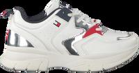 Hvide TOMMY HILFIGER Lavskaftede sneakers 30821  - medium