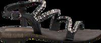 Sorte LAZAMANI Sandaler 85.195  - medium