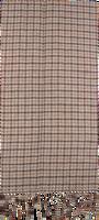 Brune ROMANO SHAWLS AMSTERDAM Sjal SHAWL CHECK  - medium
