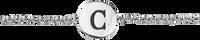 Sølv ATLITW STUDIO Armbånd CHARACTER BRACELET LETTER SILV  - medium