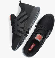 Sorte RED-RAG Lavskaftede sneakers 13557  - medium