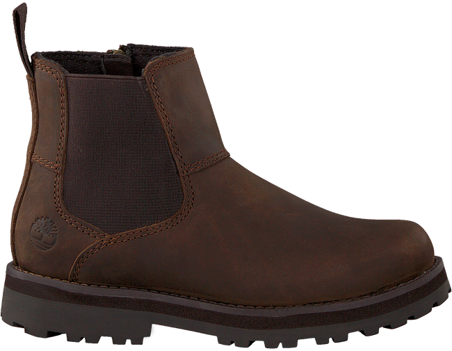Brune TIMBERLAND Chelsea boots COURMA KID  - large