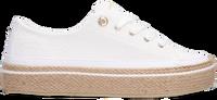 Hvide TOMMY HILFIGER Lavskaftede sneakers WHITE SUNSET VULC  - medium